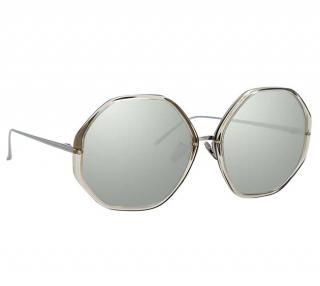 Linda Farrow Alona C5 oversize sunglasses