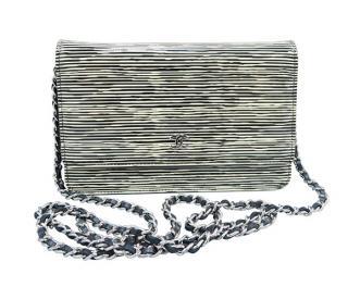 Chanel Wallet On Chain Zebra Vernis Bag