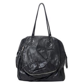 Balenciaga Black Parachute Matrix bag