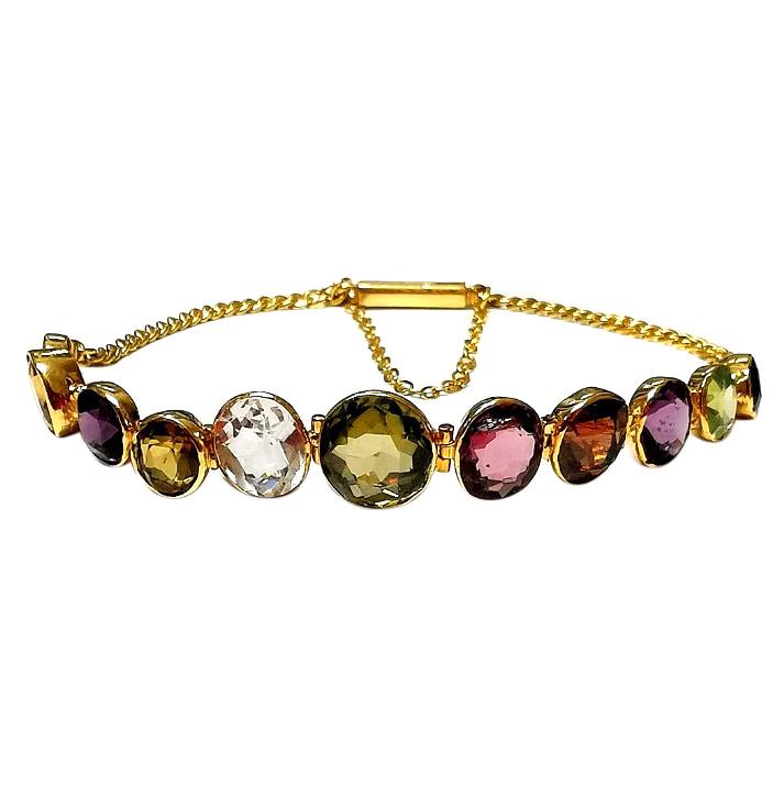 Bespoke Antique Harlequin Bracelet