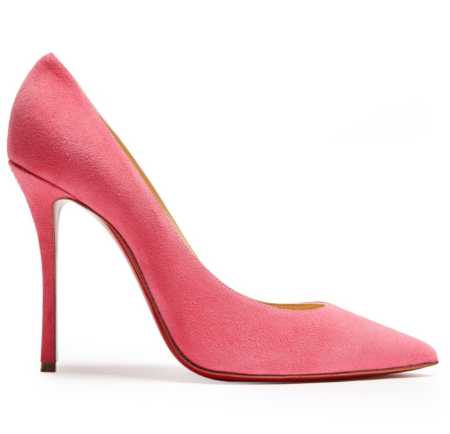 Christian Louboutin Pink Decoltish 115 pumps
