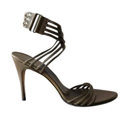 Gucci vintage khaki Tom Ford sandals