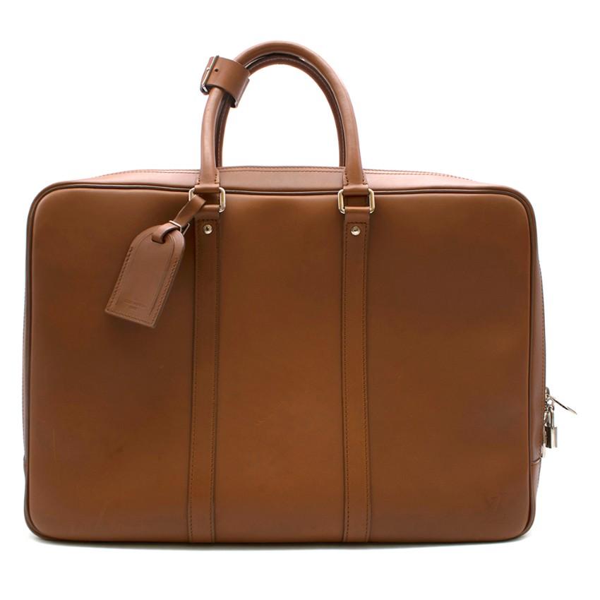 Louis Vuitton Tan Leather Voyage PM Bag