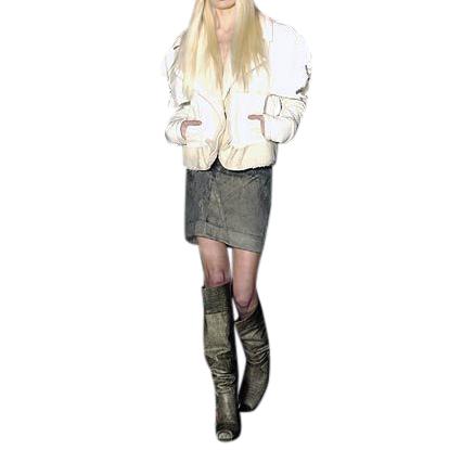 Dior by John Galliano Stretch Denim Skirt