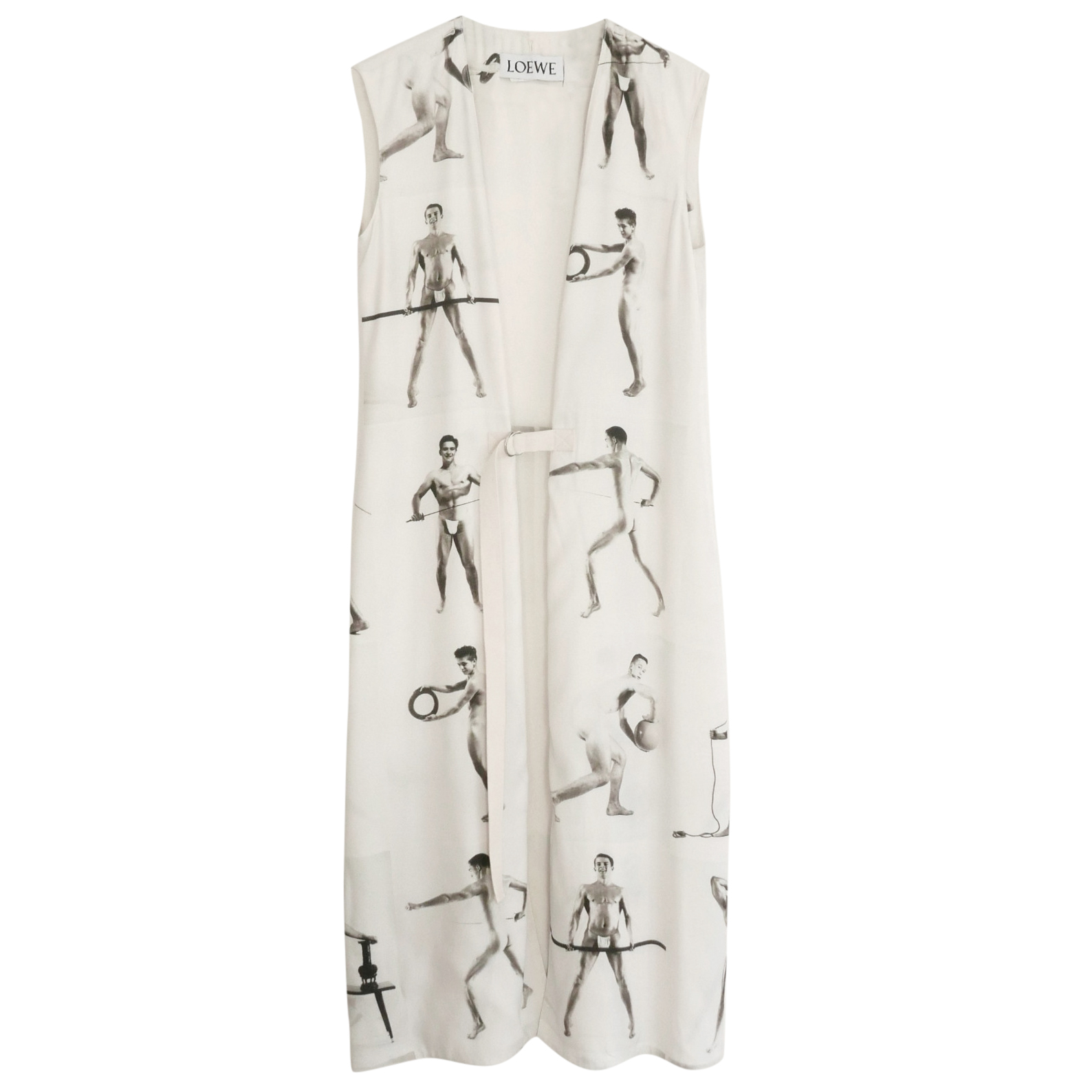 Loewe SS18 sleeveless longline jacket