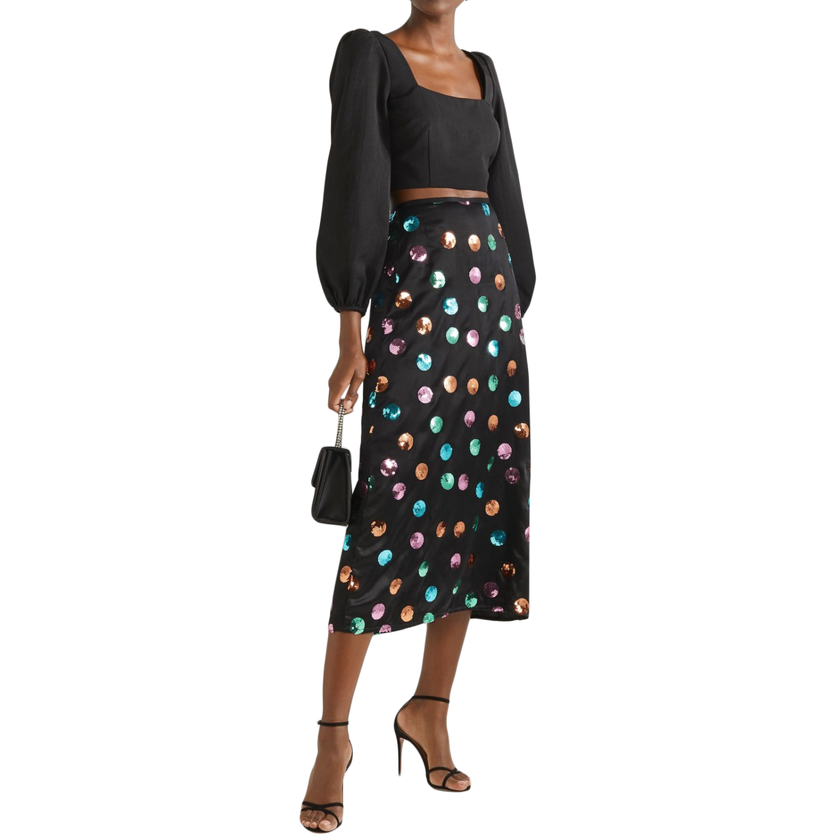Rixo Kelly Embellished Skirt - New Season