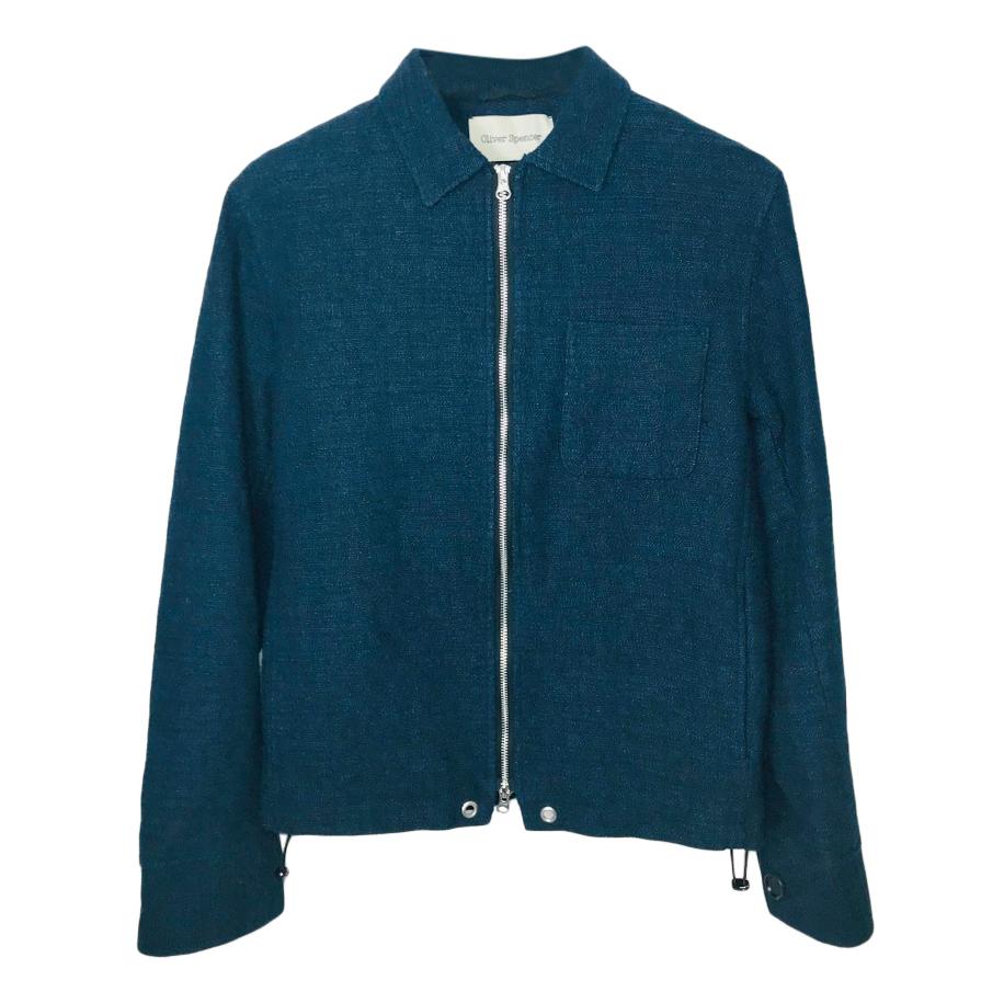 Oliver Spencer Lightweight Navy Jacket