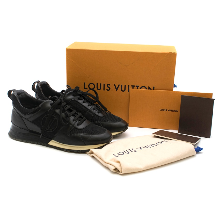 Louis Vuitton Black Run Away Trainers