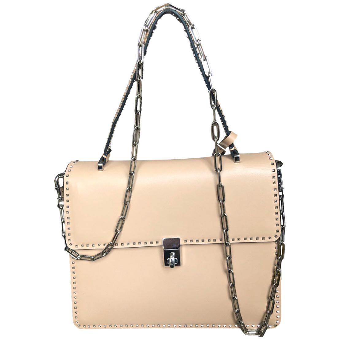 Valentino Nude Rockstud Shoulder Bag