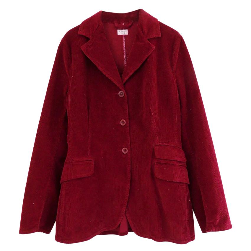 Paul Smith Red Corduroy Jacket