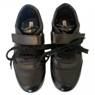 Dolce & Gabbana Black Boy's Velcro Shoes