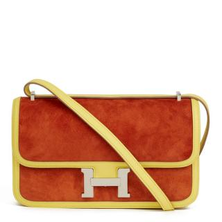 HERMES Constance Elan in Paprika and Soufre