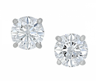 Tiffany & Co. Diamond Solitaire Earrings