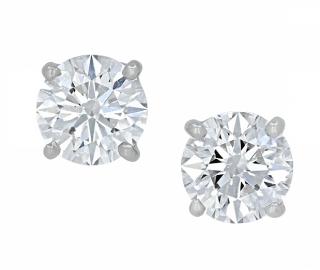 Tiffany & Co. Diamond Solitaire Earrings