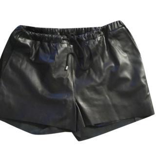 Wardrobe Copenhagen Leather MIni Shorts