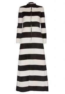 Alice and Olivia Wesley Mock Neck Long Coat