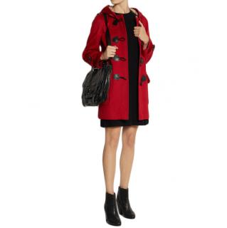 Burberry Minstead Red Duffle Coat