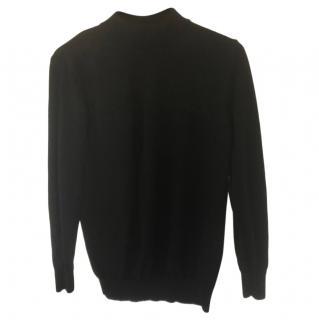 Fabiana Filipi Black Knit Polo Top