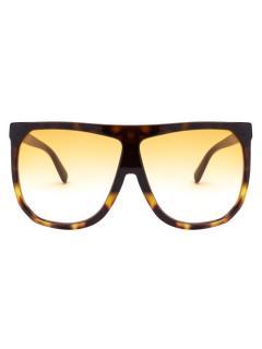 Loewe E Havana 63 Acetate Sunglasses
