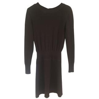 Chanel Black cashmere knit dress