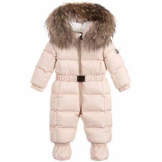 Moncler Jean Down Baby Snowsuit
