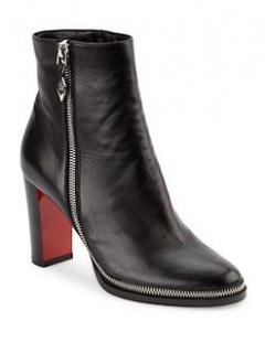 Christian Louboutin Tezelip 85 Nappa ankle boots