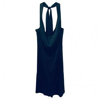 Vivienne Westwood Red Label Dark Green Halter Mini Dress