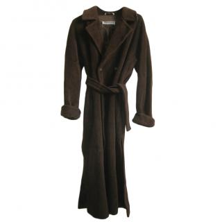 Marella Chocolate Brown Wrap Coat