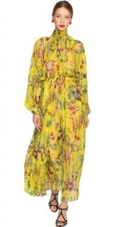 Dolce & Gabbana's Runway yellow silk jumpsuit