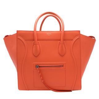 Celine Phantom Luggage Orange blossom