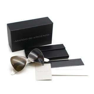 Marco De Vincenzo Butterfly Sunglasses