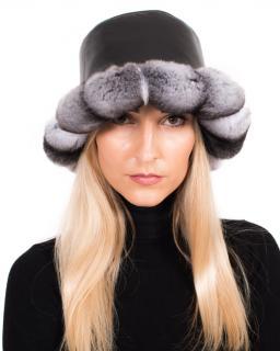FurbySD chinchilla and leather hat