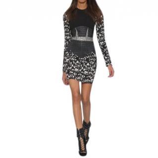 Antonio Berardi lurex tweed dress