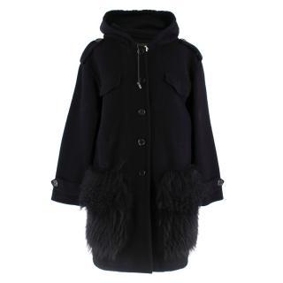 Louis Vuitton Hooded Cashmere Jacket