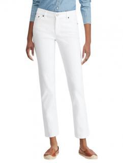 Ralph Lauren White Premier Straight Jeans