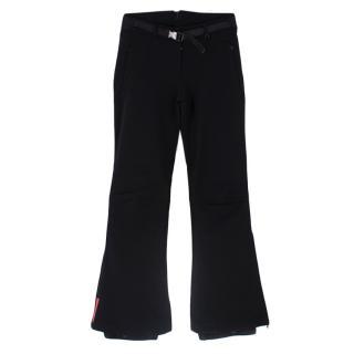 Prada Black Technical Nylon Ski Pants