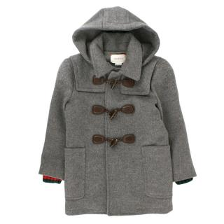 Gucci Children's Double Breasted Wool Coat