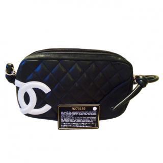 Chanel Black Cambon Pochette