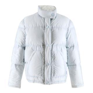 Prada baby blue Puffer Jacket