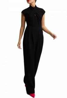 Lulu Guinness black June jumpsuit