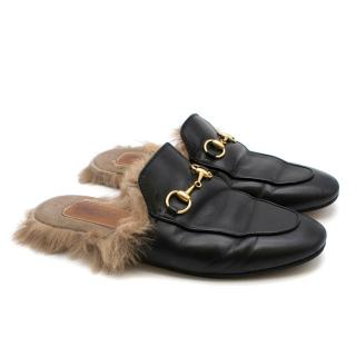 Gucci Princetown leather loafers
