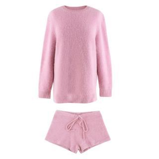 JoosTricot Stretch Cashmere Pink Set XS