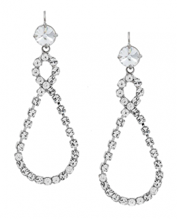 Miu Miu infinity drop earring