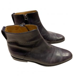 Berluti Pierre Collection Patine Boots