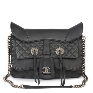 Chanel Paris Dallas Ride My Western saddle Bag