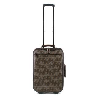 Fendi FF Monogram Coated Canvas Suitcase
