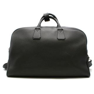 Louis Vuitton Black Taiga Leather Travel Bag