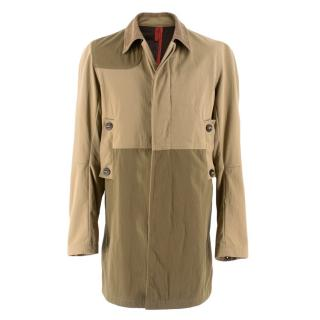 J. Lindeberg Beige and olive green Coat