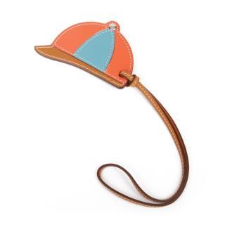 Hermes Swift Leather Paddock Bombe Bag Charm