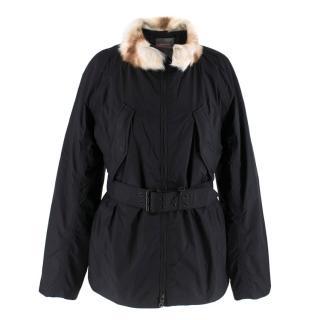 Prada Gore-Tex Fur detailed Jacket